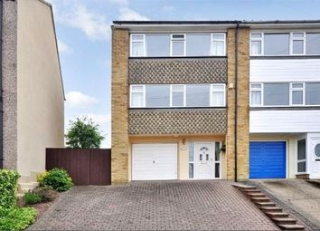 Thumbnail 3 bed end terrace house for sale in Manor Road, Swanscombe, Kent