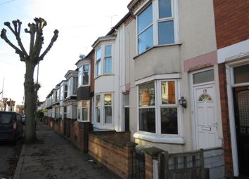 Thumbnail 2 bed terraced house for sale in Eastleigh Road, Leicester