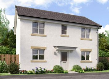 "Thumbnail 3 bed detached house for sale in ""Darwin"" at Auchinleck Road, Robroyston, Glasgow"