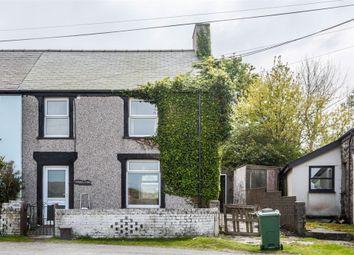 Thumbnail 3 bed semi-detached house for sale in Carmel, Carmel, Caernarfon, Gwynedd
