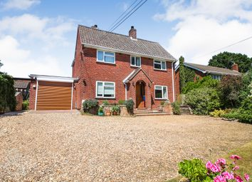 Thumbnail 3 bed detached house for sale in Crowes Loke, Little Plumstead, Norwich