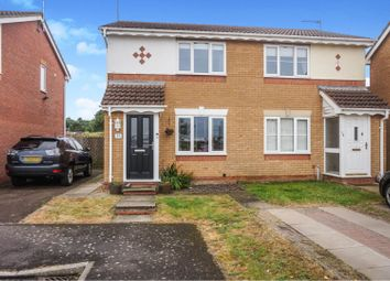 Thumbnail 2 bed semi-detached house for sale in Chelmsford Close, Northampton