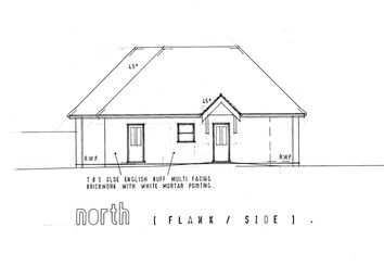 Thumbnail 3 bed semi-detached bungalow for sale in Plot 1, Hamilton Close, South Walsham, Norwich