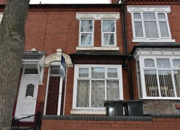 Thumbnail 3 bed terraced house to rent in Greenhill Road, Birmingham