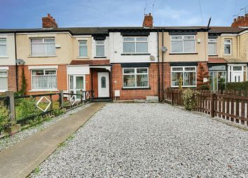 Thumbnail 3 bed terraced house for sale in Lynton Avenue, Chanterlands Avenue, Hull