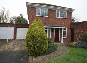 Thumbnail 4 bed detached house to rent in Vicarage Court, Egham