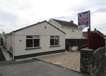 Thumbnail 3 bed bungalow to rent in Bethania Road, Clydach, Swansea, City And County Of Swansea.
