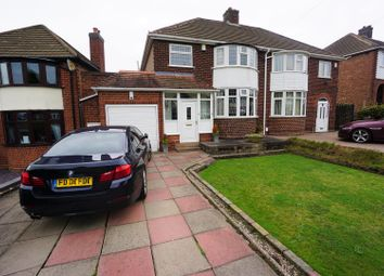 Thumbnail 3 bed semi-detached house for sale in Lindens Drive, Sutton Coldfield