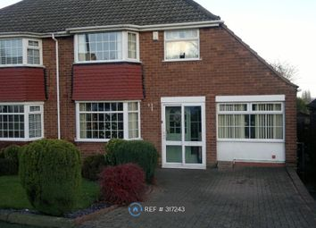Thumbnail 3 bed semi-detached house to rent in Dovedale Road, Wolverhampton