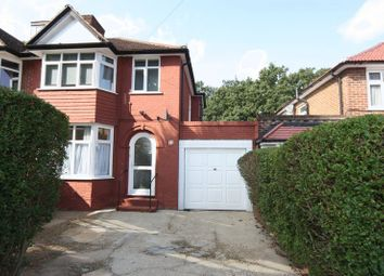 Thumbnail 3 bed semi-detached house to rent in Woodland Rise, Greenford
