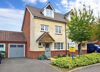 Thumbnail 4 bed semi-detached house for sale in Keele Avenue, Maidstone, Kent