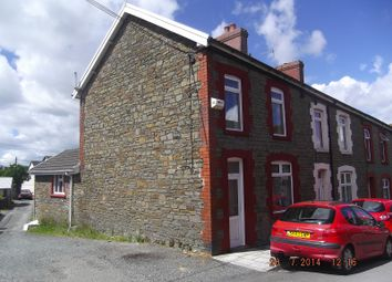 Thumbnail 3 bed end terrace house to rent in Fox Avenue, Pentwynmawr, Newbridge, Newport.