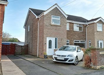 Thumbnail 3 bed semi-detached house for sale in Antholme Close, Sutton-On-Hull, Hull