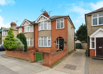 Thumbnail 3 bed semi-detached house for sale in Whitby Road, Ipswich