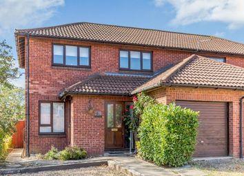 Thumbnail 3 bed semi-detached house for sale in Brindlebrook, Two Mile Ash, Milton Keynes, Buckinghamshire