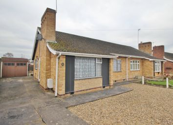 Thumbnail 2 bed semi-detached bungalow for sale in Cardigan Drive, Wigston, Leicester