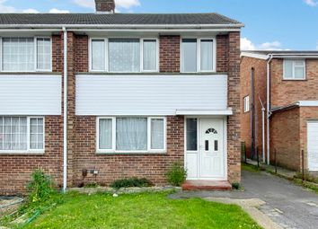 Thumbnail 3 bed semi-detached house for sale in Alfriston Gardens, Southampton