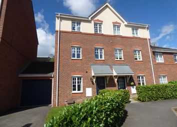 Thumbnail 4 bedroom town house for sale in Bateman Close, Crewe