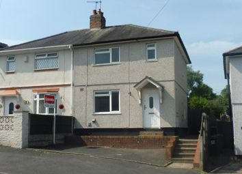 Thumbnail 2 bedroom semi-detached house for sale in Hawbush Road, Brierley Hill