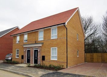 Thumbnail 3 bedroom semi-detached house to rent in Fen View, Ramsey Way, Stanground, Peterborough