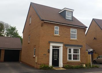Thumbnail 4 bed detached house to rent in Hopkins Field, Creech St Michael