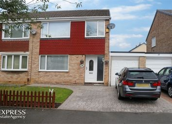 Thumbnail 3 bed semi-detached house for sale in Axminster Road, Hemlington, Middlesbrough, North Yorkshire