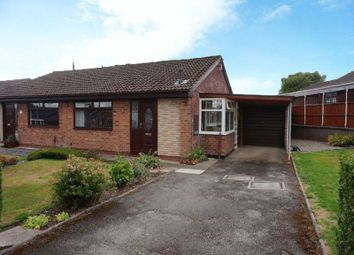 Thumbnail 2 bed semi-detached bungalow for sale in Hollington Drive, Wedgwood Farm, Stoke-On-Trent, Staffordshire