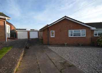Thumbnail 2 bed semi-detached bungalow for sale in The Marles, Exmouth, Devon