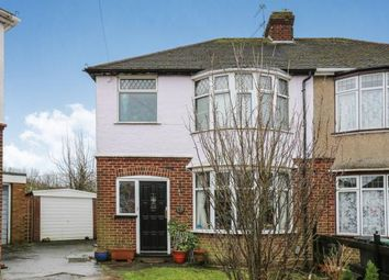 Thumbnail 3 bed semi-detached house for sale in Warden Hill Gardens, Luton, Bedfordshire, Warden Hills