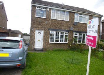 Thumbnail 3 bedroom semi-detached house for sale in Tyersal Green, Tyersal, Bradford
