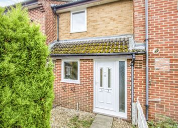 Thumbnail 2 bed terraced house for sale in Evergreen Close, Three Legged Cross, Wimborne