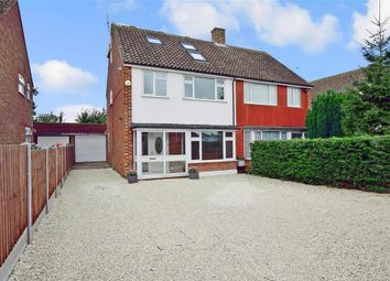 Thumbnail 5 bed semi-detached house for sale in Multon Road, West Kingsdown, Sevenoaks, Kent