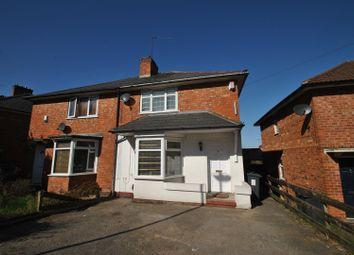 Thumbnail 3 bed semi-detached house for sale in Uffculme Road, Stirchley, Birmingham