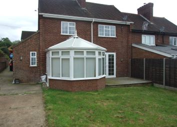 Thumbnail 3 bed semi-detached house to rent in Whitehall, Lidlington