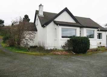 Thumbnail 4 bedroom detached house for sale in Viewfield Road, Portree