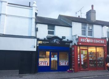 Thumbnail Retail premises for sale in 34 Canterbury Street, Gillingham, Kent