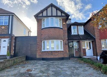 Thumbnail 3 bed semi-detached house for sale in Abbey Road, South Croydon, Surrey