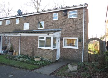 Thumbnail 2 bed end terrace house for sale in Wallbeck Close, Kingsthorpe, Northampton