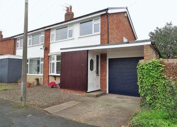 Thumbnail 3 bed semi-detached house for sale in Rockburgh Crescent, Walmer Bridge, Preston