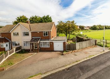 Thumbnail 3 bed semi-detached house for sale in Fairway Avenue, Folkestone