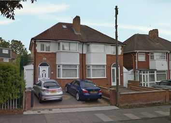Thumbnail 3 bed semi-detached house for sale in Richmond Road, Birmingham, West Midlands