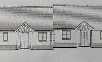 Thumbnail 2 bedroom semi-detached bungalow for sale in Plot 18 The Celtic, Land South Of Kilvelgy Park, Kilgetty, Pembrokeshire