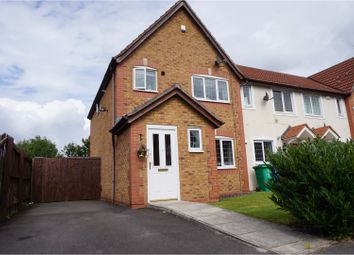 Thumbnail 3 bed end terrace house for sale in Northumberland Way, Manchester