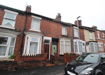 Thumbnail 2 bedroom terraced house for sale in Grove Street, Stoke-On-Trent