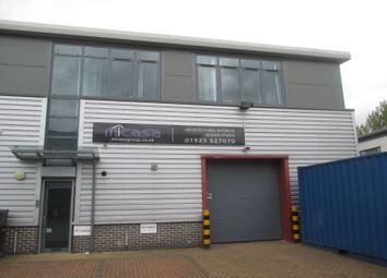 Thumbnail Industrial to let in Dwight Road, Watford