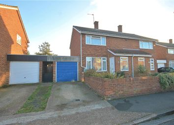 Thumbnail 2 bed semi-detached house for sale in Hengrove Crescent, Ashford, Surrey