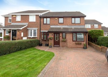 Thumbnail 4 bed semi-detached house for sale in Dunnlynn Close, Sunderland