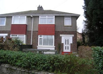 Thumbnail 2 bedroom flat to rent in Horn Lane Flats, Plymstock, Plymouth