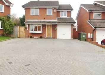 Thumbnail 4 bed detached house for sale in Longfellow Close, Walkwood, Redditch