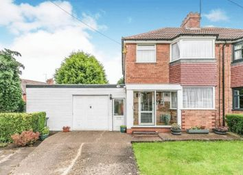 Thumbnail 3 bed semi-detached house for sale in Dell Road, Cotteridge, Birmingham